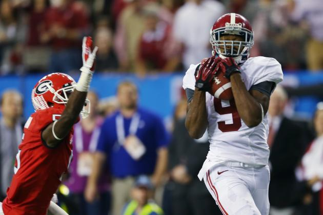 SEC Football Video: Who Are the Top 5 Wide Receivers Heading into Fall Practice?