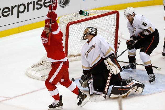 Detroit Red Wings' 13th Playoff vs. California Teams May Be Last for Long Time