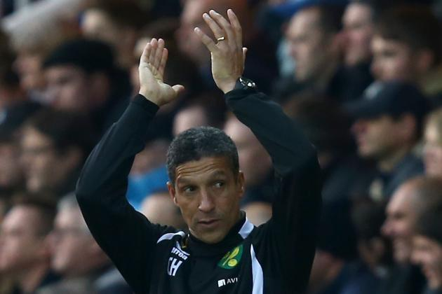 Hughton Shows Re-Runs of Wins Against Arsenal, United to Inspire Survival Fight