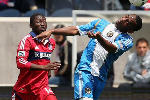 Chicago Fire Fall 1-0 to Philadelphia Union