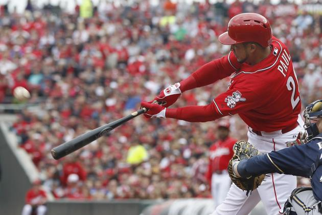 Reds Bats on Fire in 13-7 Win over Brewers