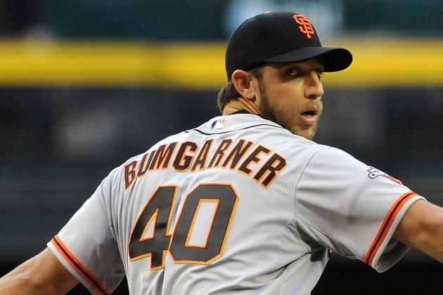 Giants Beat Atlanta Braves 10-1 as Madison Bumgarner Strikes out 11