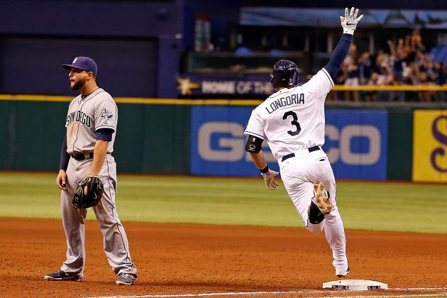 Longoria's 2-Run HR in 9th Lifts Rays over Padres