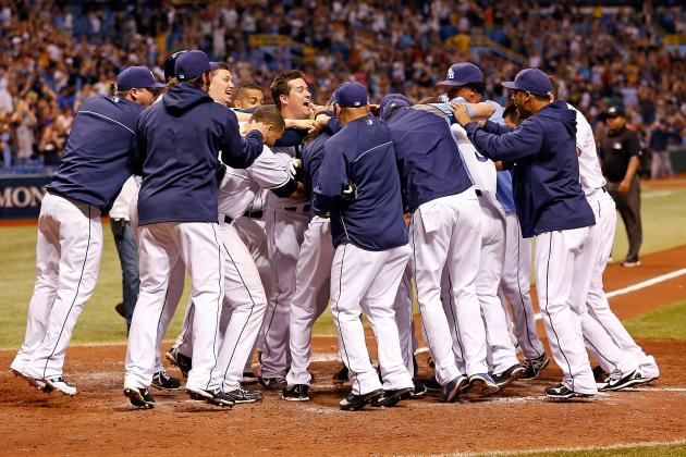 Longoria Homer Rallies Rays to Win over Padres