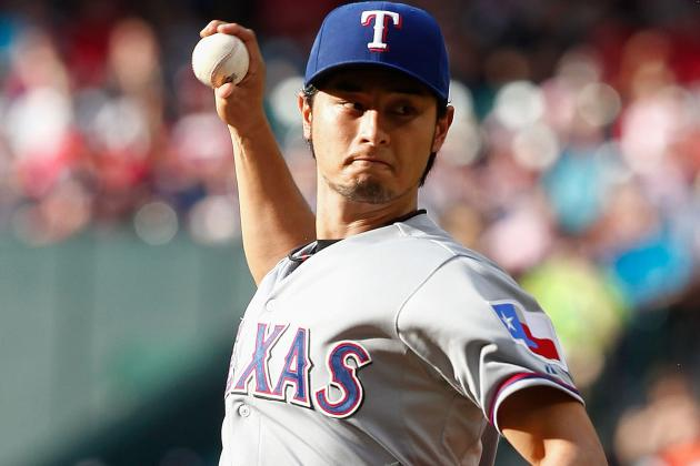 Long Ball Helps Rangers Back Darvish in Win