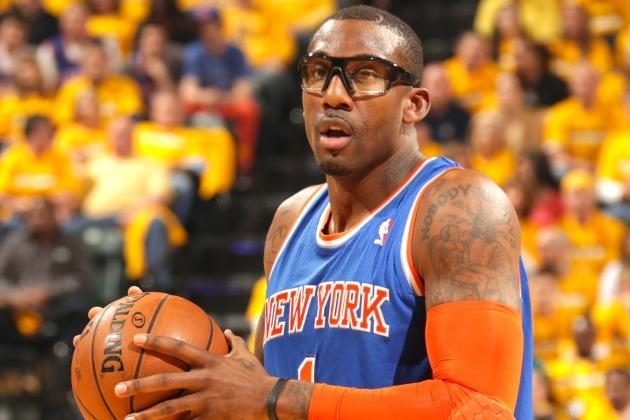 Amar'e Stoudemire's Return to Action Doesn't Impact Knicks