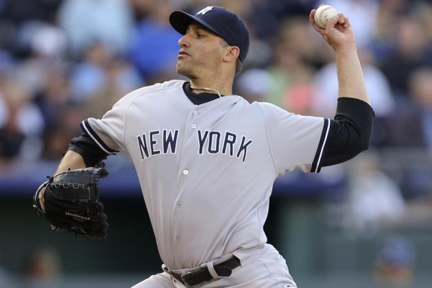 Andy Pettitte Rebounds, Vernon Wells Homers in Yankees 3-2 Win over Royals
