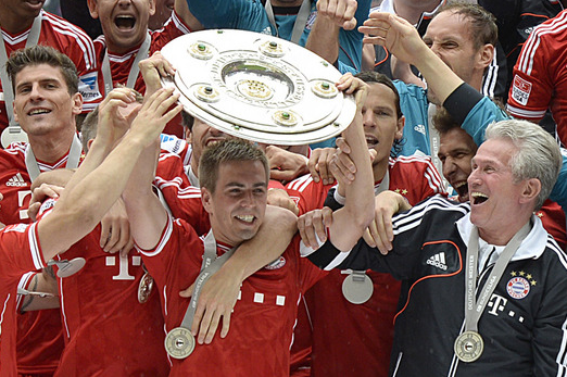 Bayern Munich Presented with Bundesliga Trophy After Win over Augsburg
