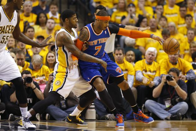 Paul George Exposing Limitations of Knicks' 'Melo-Ball