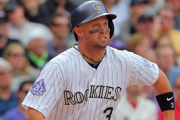 Rockies' Cuddyer Going on DL, Blackmon Getting Called Up from Triple-a