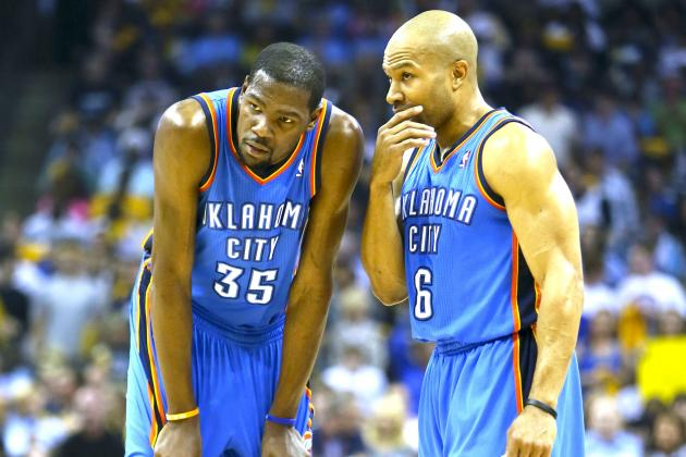 Does Kevin Durant Have Enough Help to Escape 2nd Round of 2013 NBA Playoffs?