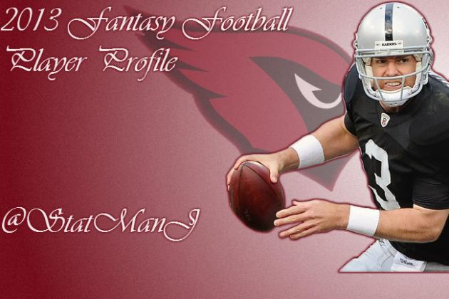 Carson Palmer: 2013 Fantasy Football Projections for Arizona Cardinals QB