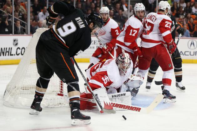 NHL Playoffs 2013: Detroit Red Wings vs. Anaheim Ducks Game 7 Preview