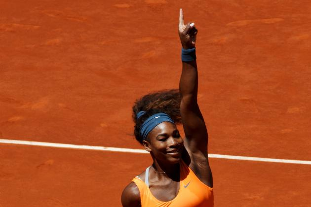 Serena Williams Defeats Maria Sharapova to Win Madrid Open Final