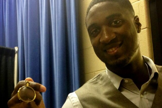 Roy Hibbert Almost Wore a Monocle to His Game 3 Press Conference