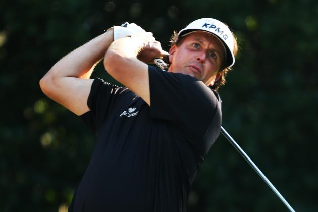 Mickelson Cards 73, Misses Rare Players Cut