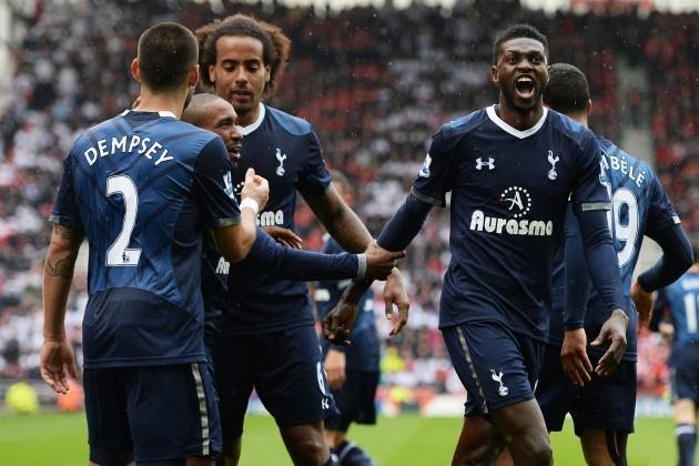 Stoke City 1 Tottenham Hotspur 2: Match Report