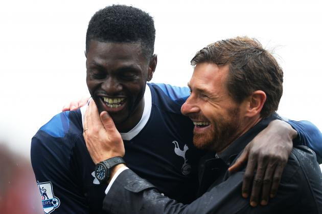 Adebayor Scores Crucial Late Winner for Spurs
