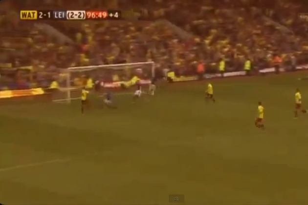Watford Book Wembley Ticket with Impossible 97' Goal