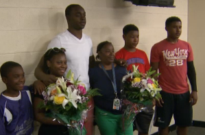 Maclin Helps Kids with Mother's Day Surprise
