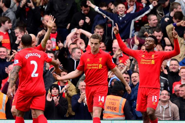 Sturridge Bags First Hat-Trick as Reds Come from Behind at the Cottage