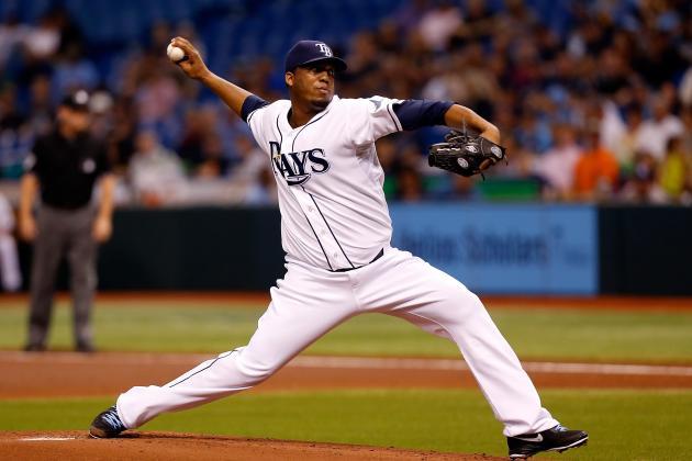 MLB Gamecast: Padres vs. Rays