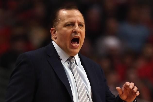 NBA Announces Tom Thibodeau Fined $35k for Game 3 Comments