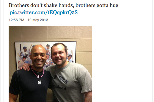 Joba Chamberlain and Mariano Rivera Have Made Up