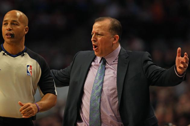 Tom Thibodeau Fined $35K for Comments Made After Game 3 Loss to Heat