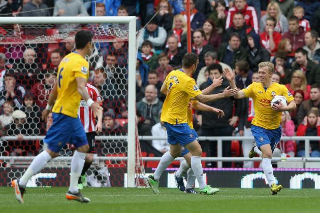 Sunderland 1 Southampton 1: Match Report