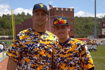 West Virginia unveils some shockingly bright camo uniforms