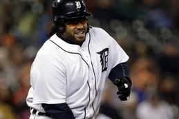 Prince Fielder Hit by Pitch in Worst Possible Location