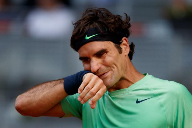 Practice Court Beckons for Federer After Madrid Defeat