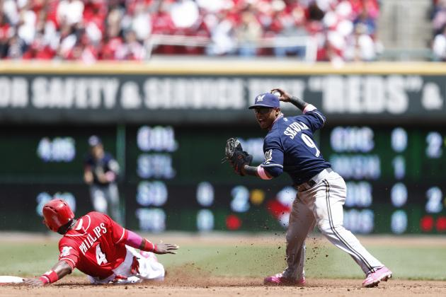 Reds 5, Brewers 1