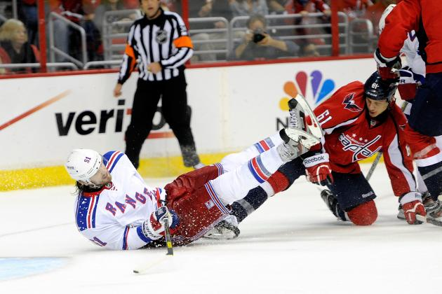 Washington Capitals vs. New York Rangers - GameCast - May 12, 2013 - ESPN