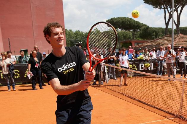 ATP Rome Masters: Andy Murray Will Face Marcel Granollers in Second Round
