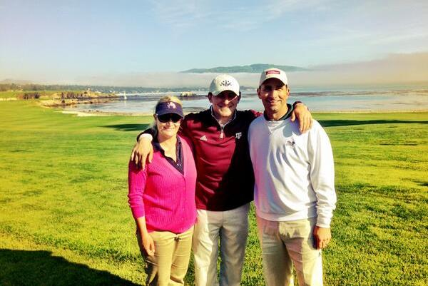 Johnny Manziel: Heisman Winner Plays Pebble Beach (PHOTO)