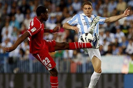 Sevilla Frustrate Malaga in Chase for Europe