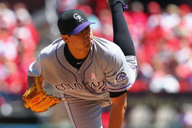 De La Rosa Flirts with No Hitter as Rockies Pound Cardinals in St. Louis