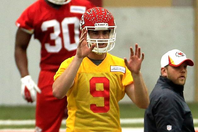 Vols QB Tyler Bray Getting Shot with Chiefs