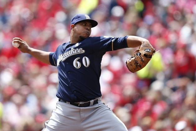 Peralta and Brewers Done in by Reds' Homers