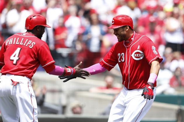 Don Lutz's 1st Career Homer Lifts Reds over Brewers 5-1 for 3-Game Sweep