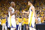 Warriors Beat Spurs in OT, Even Series at 2-2