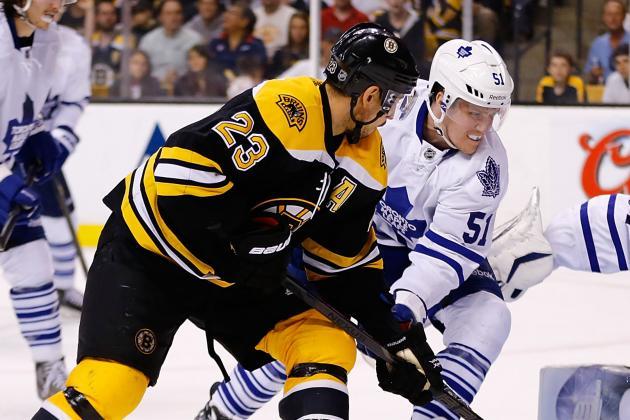 ESPN Gamecast: Bruins vs. Maple Leafs