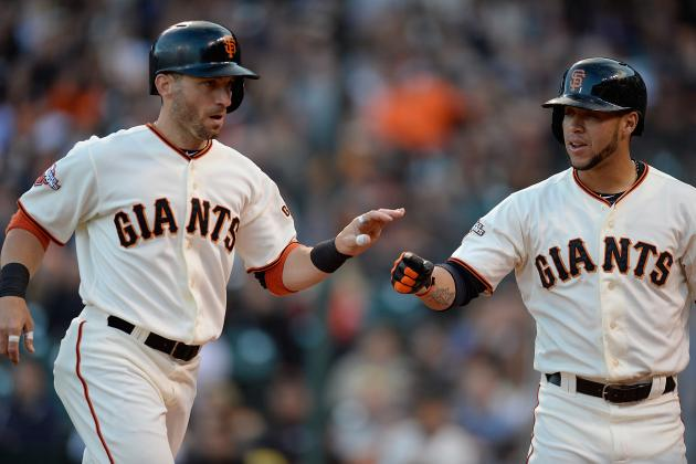 Giants Hit 3 HRs to Back Lincecum, Beat Braves
