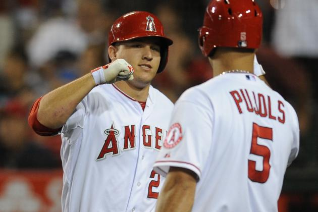 Mike Trout Credits Albert Pujols for Recovery