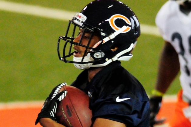 Wilson Eager to Join Bears' WR Competition