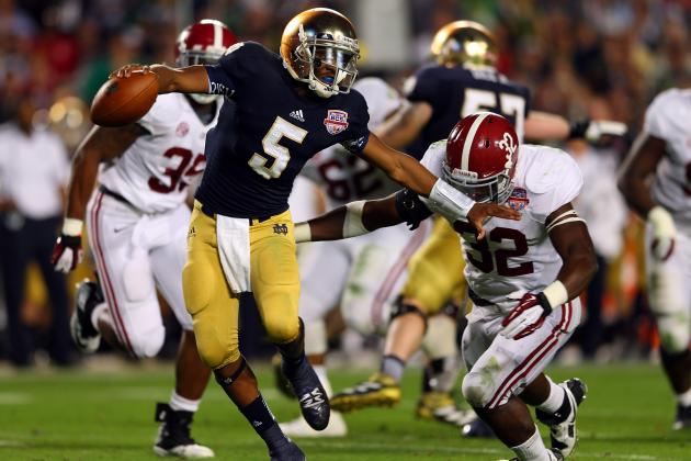 Notre Dame Football: Ranking the 5 Best Offensive Weapons for the Fighting Irish