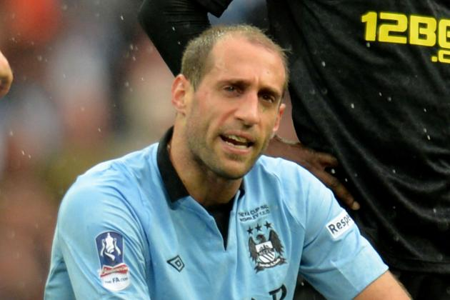 Zabaleta: Stars Have Flopped, but Mancini's Future Is Still NOT Their Problem