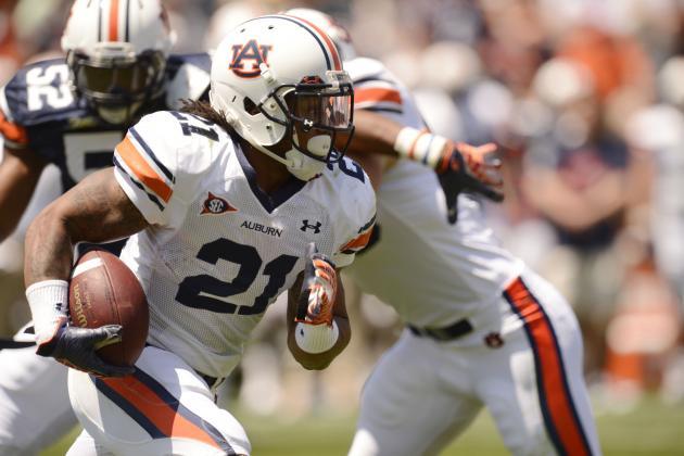Auburn Football: Tre Mason to Back Up 2012 Performance with Breakout 2013 Season